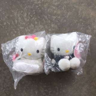 Hello Kitty Collectible Wedding Couple