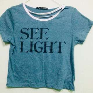 see light hanging blouse
