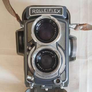 1954 Rolleiflex Camera