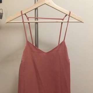 Slip Pink Dress