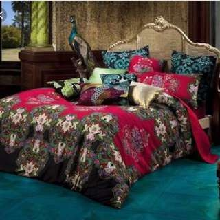 KAS King Size Quilt Cover Nyasha morrocan style silk route