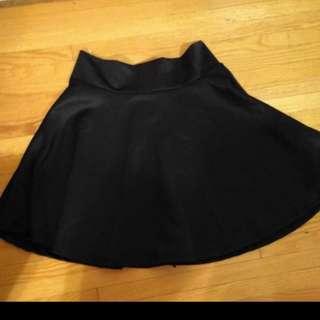 BN black skirt