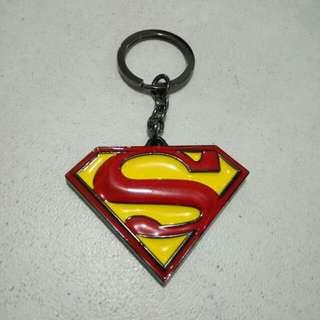 Gantungan Kunci Logo Superman