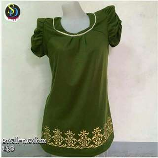 Semi Dress green Top