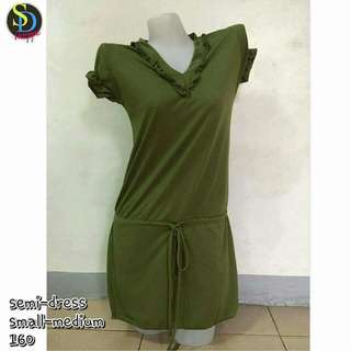 Green Semi Dress