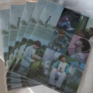 BTS ~ LOVE YOURSELF A4 FOLDER ~ READY STOCK