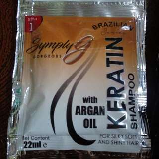 Keratin Shampoo & Conditioner with Argan oil per dozen