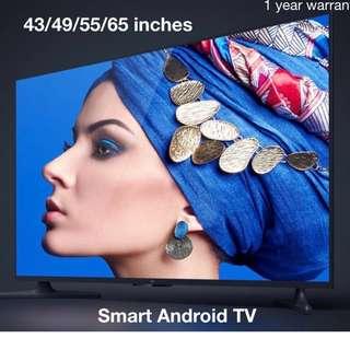 Brand new xiaomi tv Mi TV  4A 32 43 49 55 65 inches 4k smart andriod  tv DVB T2