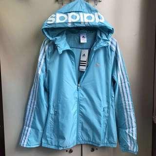 Adidas 女性運動風衣外套(全新)