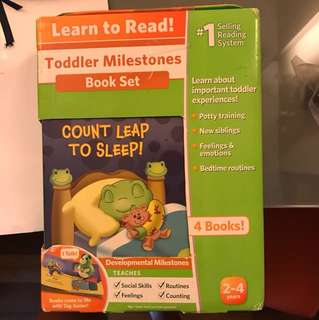 Leap Frog Learn to Read Book Set 1