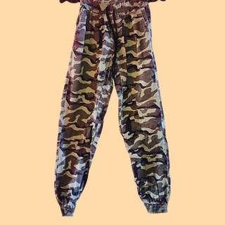 CAMO jogger pants