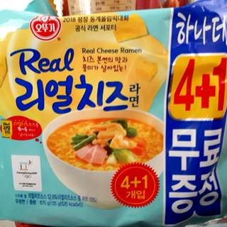 ☆Real cheese ramen ☆new flavour instant noodle from korea
