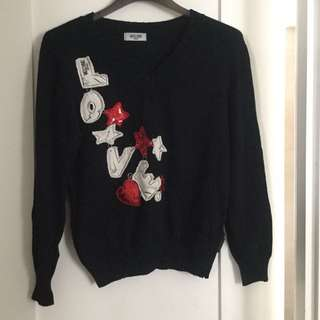 Moschino Jeans sweater top M