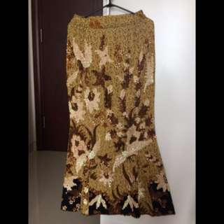 Rok Batik Kebaya Full Payet (depan)