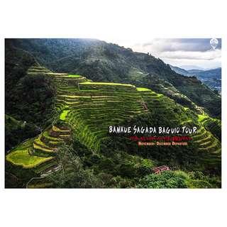 Banaue , Sagada , Benguet Baguio ( GUIDED TOUR )
