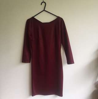 Tight fitting dress
