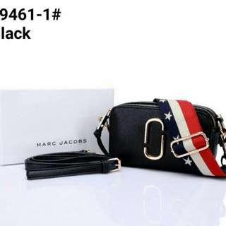 Tas Marc Jacobs Snapshot Small Camera Bags - Black
