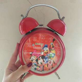 jam waker mickey mouse red
