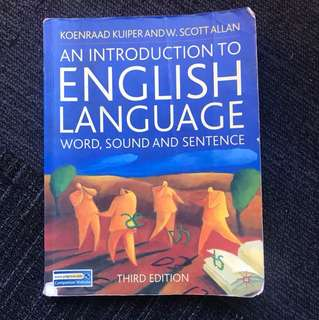 An Introduction to English Language