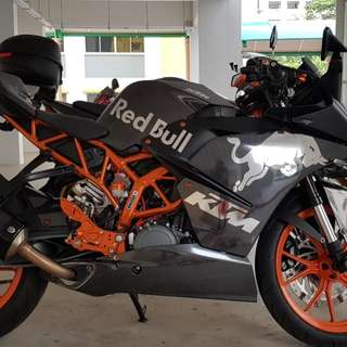 KTM RC 390 Grounding Kit