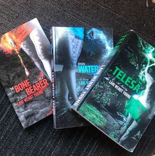 TELESA TRILOGY by Lani Wendt Young