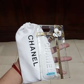 CASING CHANEL IP7+ dan ip8+ with dusbag