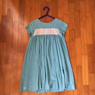 Chateau De Sable turquoise dress