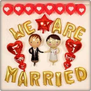 Wedding / Love / I love you balloon