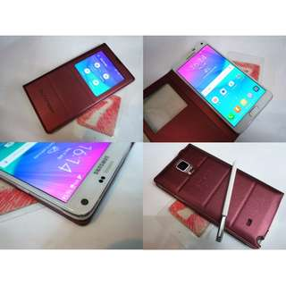 Samsung Galaxy Note 4 N910G 2k Display LTE 4g+ Rm780