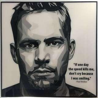 Paul Walker wall art
