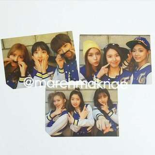 TWICE PAGE TWO - GROUP/UNIT PHOTOCARD