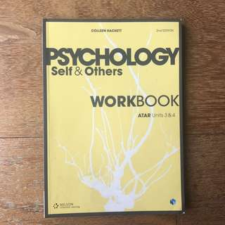 Psychology Self and Others Workbook Unit 3 and 4