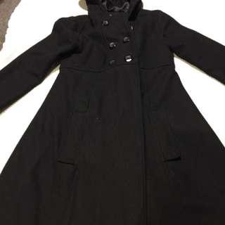 Princess highway black coat sz 6