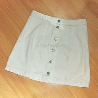 BNEW TOPSHOP Denim Skirt (still in stores)
