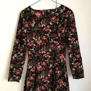 Dowisi Floral dress - Rose