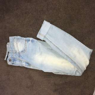 90's mom jeans light wash