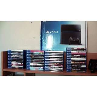 Playstation 4 (PS4) Games - Request Also for PS3