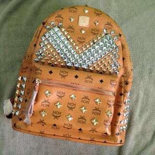 SUPER SALE‼️MCM Leather Backpack