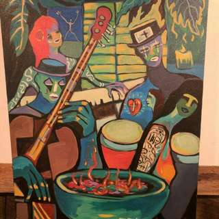 Lukisan Kontemporer $1200