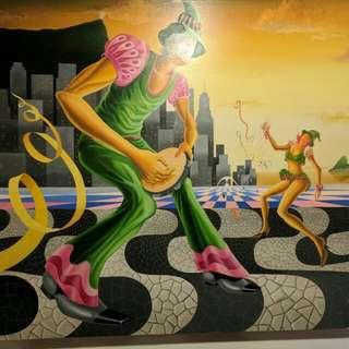 Lukisan Kontemporer $2200