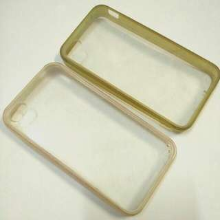 #TisGratis Transparent Case for Iphone 4s (2pcs)