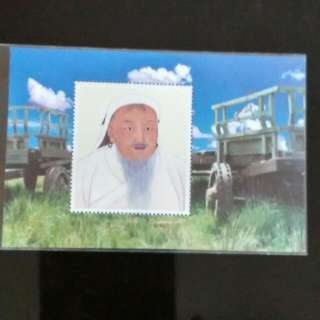 成吉思汗纪念票