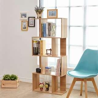多功能隔間收納櫃/四層書櫃