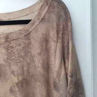 Aritzia / Wilfred Printed Sweater