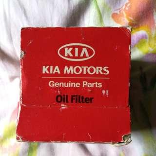 Kia original oil filter