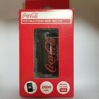 可口可樂 Coca Cola 流動充電器 2600mah
