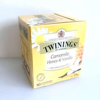 (澳洲直送) Twinings茶包(10枚)甘菊蜜糖vanilla味