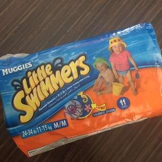 Disposable swimpants