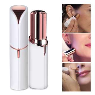 HFA5023WH - Brand New Lipstick Flawless Painless Hair Remover/Face Hair Remover/Lady/Women /Portable Electric Shaver