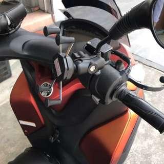Handphone Holder X-Grip For Yamaha Tricity